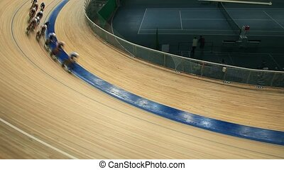 cycling races on the track