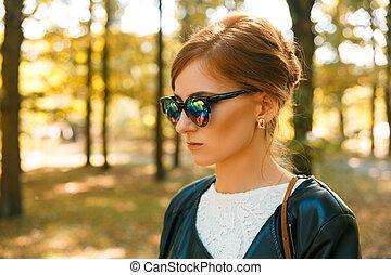 Portrait of a modern women