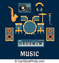 Musical instruments and sound equipment