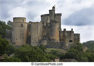 Bonaguil Castle, Lot-et-Garonne, Aquitaine, France