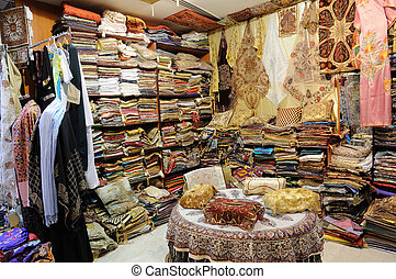 Shop with Traditional Arabic Products in Dubai, United Arab...