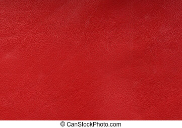 genuine red leather texture for background
