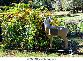 Deer archery target - Deer shaped archery target