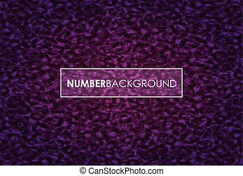 number background
