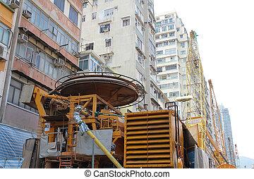 Ma Tau Wai subway building site - the Ma Tau Wai subway...