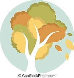 Tree in circle