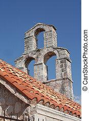bell tower in Montenegro