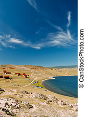 vacation on the shores of Lake Baikal - Rest on the shore of...