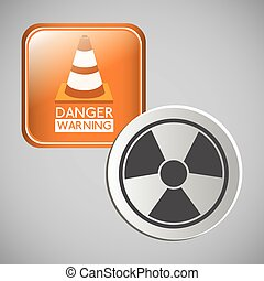 danger warning design