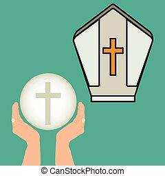 catholic religion design - catholic religion design, vector...