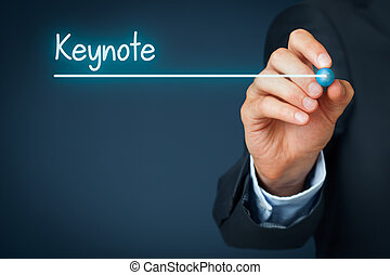 Keynote heading - background template for business...