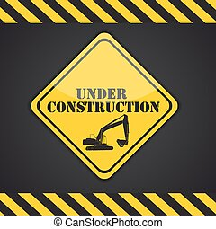 Under Construction. Vector Illustration