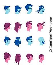 Set avatars music fans