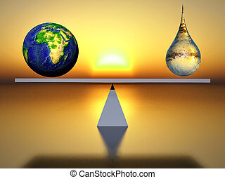 equilibrium - metaphor of ecological balance