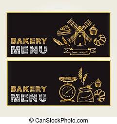Restaurant cafe menu, template design. - Cafe menu...