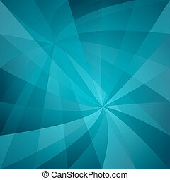 Cyan abstract twisted pattern background - Cyan computer...