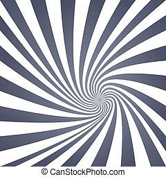 Vintage grey spiral design background