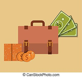 saving money design, vector illustration eps10 graphic