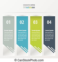 abstract banner design  Green, blue, gray color