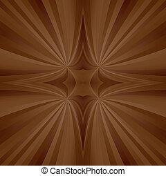 Brown mirror ray background - Brown abstract digital mirror...