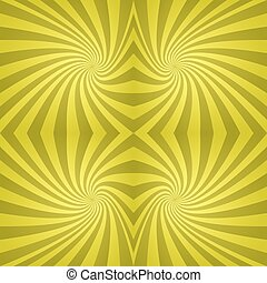 Seamless yellow spiral background