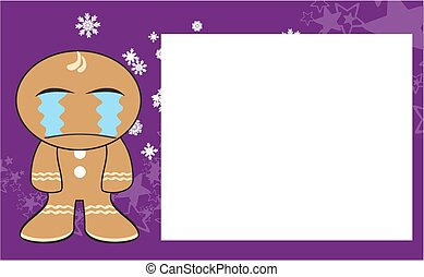 xmas gingerbread kid cartoon9 - xmas gingerbread kid cartoon...