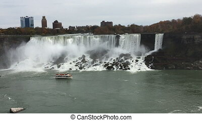 American Falls at Niagara Falls, New York