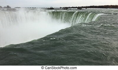 Slow Motion of the Horseshoe Falls - A Slow Motion of the...