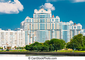 Architecture Of Minsk, From District Nemiga, Nyamiha in...