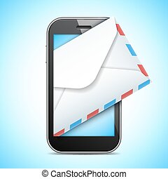 Mobile Phone and Letter