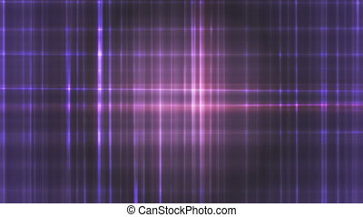Broadcast Intersecting Hi-Tech Lines, Purple, Abstract, Loopable, HD
