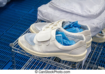 Clean room shoes for factory