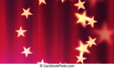 Patriotic in Red 2.5 Loop