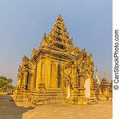 Maha Aungmye Bonzan, Mandalay - Stupa at The Maha Aungmye...