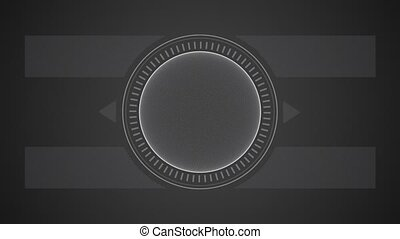 abstract geometrical form animation - abstract white...