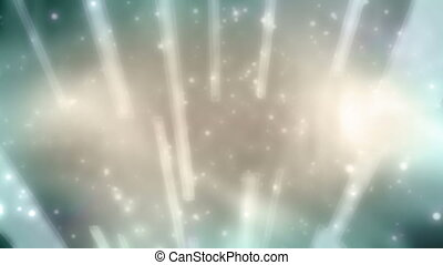 Abstract Loop Beams and Particles - Color V2 Abstract Loop...