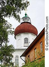 Voznesenskaya(Ascension) church-lighthouse , Russia