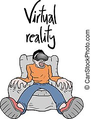 virtual reality experience - Creative design of virtual...