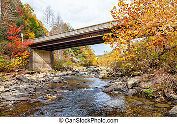 Lilly Bridge at Obed Wild and Scenic River
