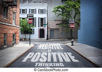 Decision at a crossroad - Positive or Negative