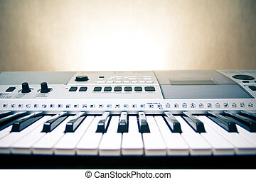 Musical instrument - The part of professional synthesizer...