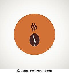 Coffee vector design Bean icon