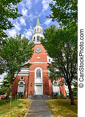 First Unitarian Church - Burlington, Vermont - First...