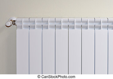 Radiator - An heat exchanger radiator for room heating in...