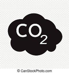 CO2, icono