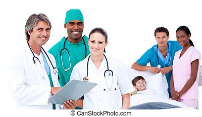 patient\'s, médico, equipo, dormitorio