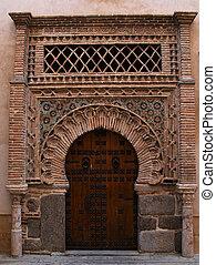 Toledo - Old door