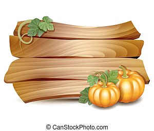 Thanksgiving card with pumpkins - Thanksgiving card with...