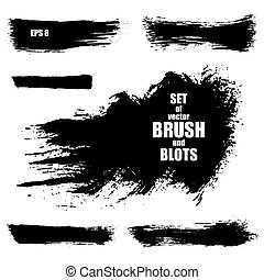 Brush stroke vector illustration