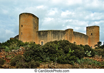 Bellver Castle, Mallorca - a view of Bellver Castle , Palma,...